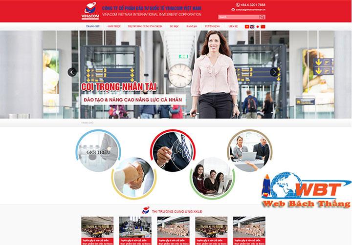 dịch vụ thiết kế website xuất khẩu lao động chuyên nghiệp đẳng cấp