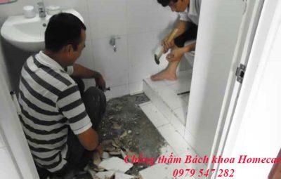 Chống thấm nhà vệ sinh tại Ba Vì