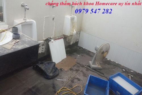 Chống thấm nhà vệ sinh tại Phú Xuyên triệt để