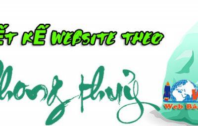 Thiết kế website theo phong thủy chuyên nghiệp chuẩn seo