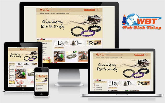 đợn vị thiết kế website theo phong thủy uy tín chất lượng