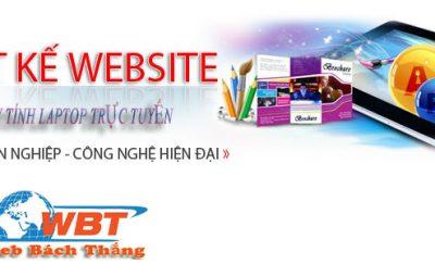 thiết kế website bán máy tính laptop chuyên nghiệp đẳng cấp