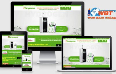 thiết kế website bán máy lọc nước chuyên nghiệp giá tốt