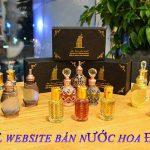 Thiết kế website bán nước hoa uy tín chuẩn seo chất lượng