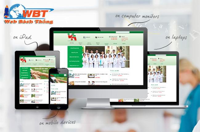 Dịch vụ thiết kế website bệnh viện chuyên nghiệp chuẩn seo