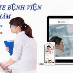 Thiết kế website bệnh viện, trung tâm phòng khám chuyên nghiệp