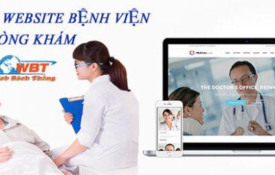 Dịch vụ thiết kế website bệnh viện, trung tâm phòng khám