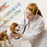 Thiết kế website dịch vụ chăm sóc thú cưng chuyên nghiệp