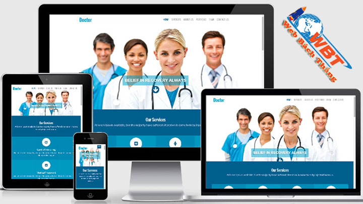 Dịch vụ thiết kế website nha khoa chuẩn seo chuẩn di động