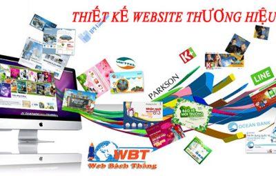thiết kế website thương hiệu lớn chuyên nghiệp đẳng cấp