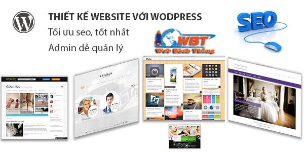 thiết kế website làm biển quảng cáo bằng wordpress chuyên nghiệp