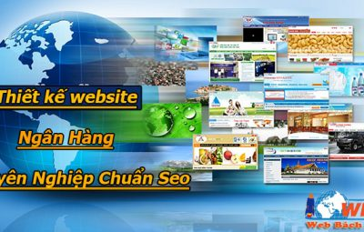 thiết kế website ngân hàng chuyên nghiệp