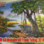 Thiết Kế Website Vẽ Tranh Tường 3D Đẹp Chuyên Nghiệp