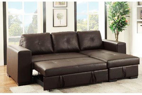 mẫu giường gấp thành ghế sofa góc