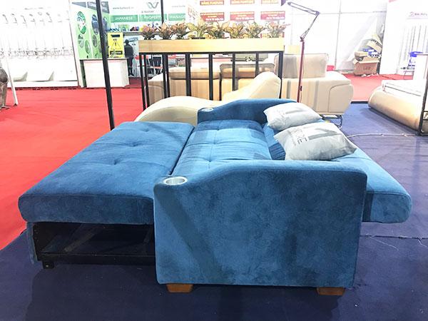 mẫu giường gấp thành ghế sofa