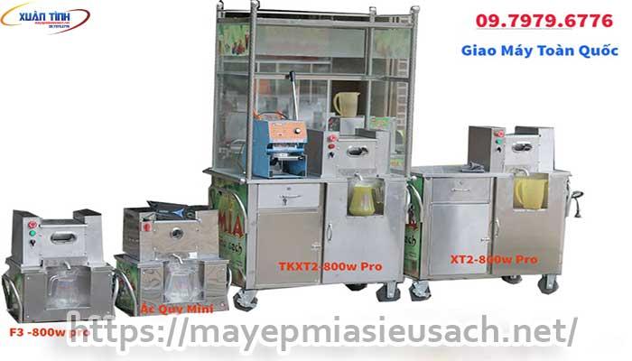Các loại xe nước mía siêu sạch tại TP Hồ Chí Minh