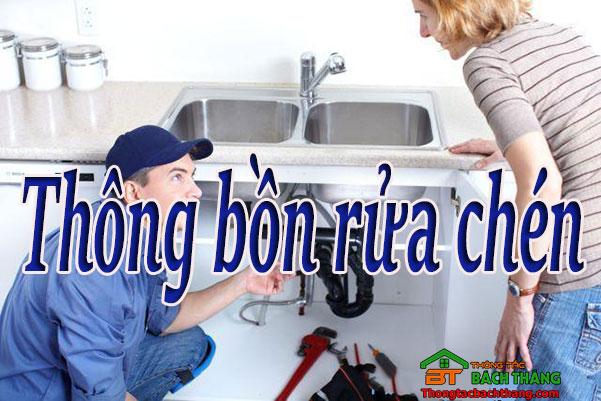 Thông bồn rửa chén Quận 1 giá rẻ home care