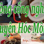 Thông cống nghẹt huyện Hóc Môn giá rẻ, chuyên nghiệp BT homecare