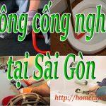 Thông cống nghẹt tại Sài Gòn chỉ # 129 k liên hệ 0774 361 201