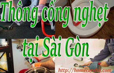 thông cống nghẹt tại Sài Gòn giá rẻ