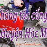 Thông tắc cống tại Huyện Hóc Môn giá rẻ, uy tín, hiệu quả BT homecare