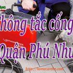 Thông tắc cống tại Quận Phú Nhuận giá rẻ, thợ giỏi, uy tín BT homecare