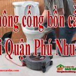 Thông cống bồn cầu tại Quận Phú Nhuận giá rẻ, chuyên nghiệp homecare