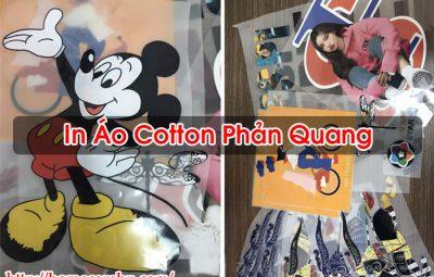 In Áo Cotton Phản Quang