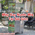 Máy Xay Nước Mía Tại Sài Gòn Mua Bán Giá Rẻ – Homecare BT