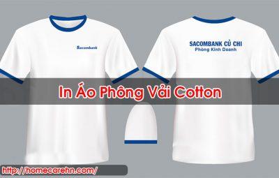In Áo Phông Vải Cotton