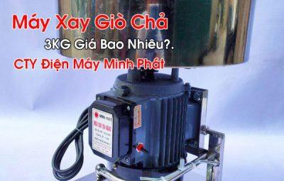 Máy Xay Giò Chả 3KG Giá Bao Nhiêu