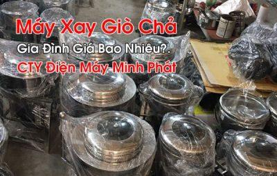 Máy Xay Giò Chả Gia Đình Giá Bao Nhiêu