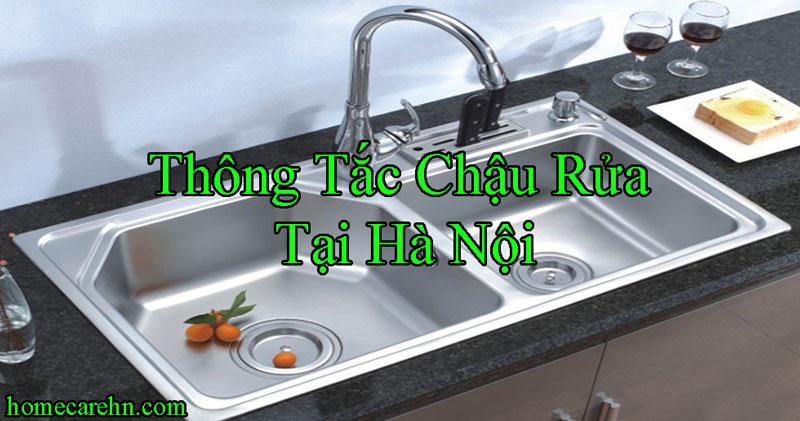 Thông Tắc Chậu Rửa Tại Hà Nội