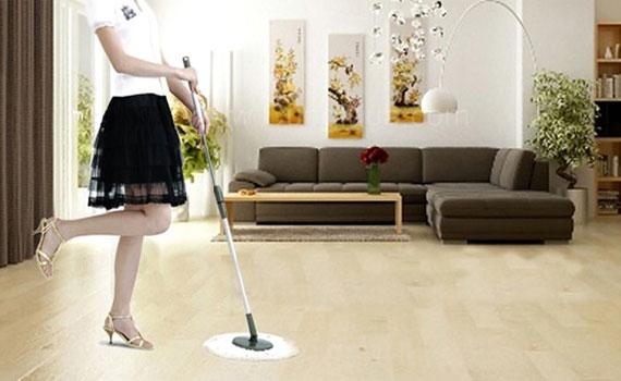 Homecare Hà Nội mách bạn cách lau nhà sạch bong đón tết 2016