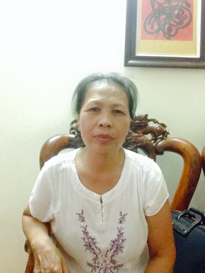 Cô Bùi Thị Lương sinh năm 1964 muốn giúp việc chăm ông bà