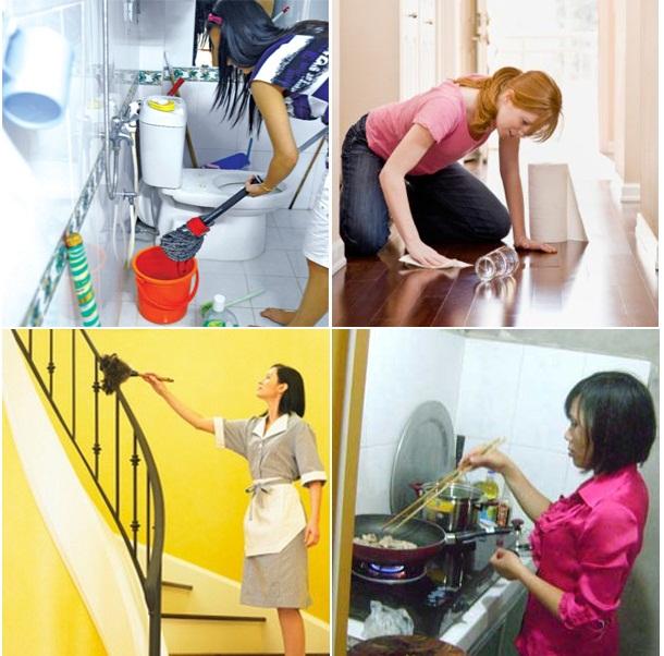Giúp việc theo giờ tại Hà Nội tiện lợi mà hiệu quả cao