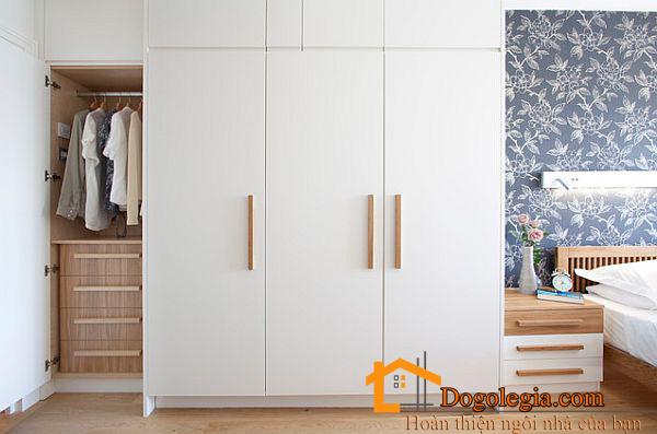 Mẫu tủ quần áo gỗ công nghệp 001 hiện đại đẳng cấp mọi thời đại