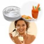 Sữa chua không đường mang đến cho bạn làn da sạch mụn mái tóc óng mượt